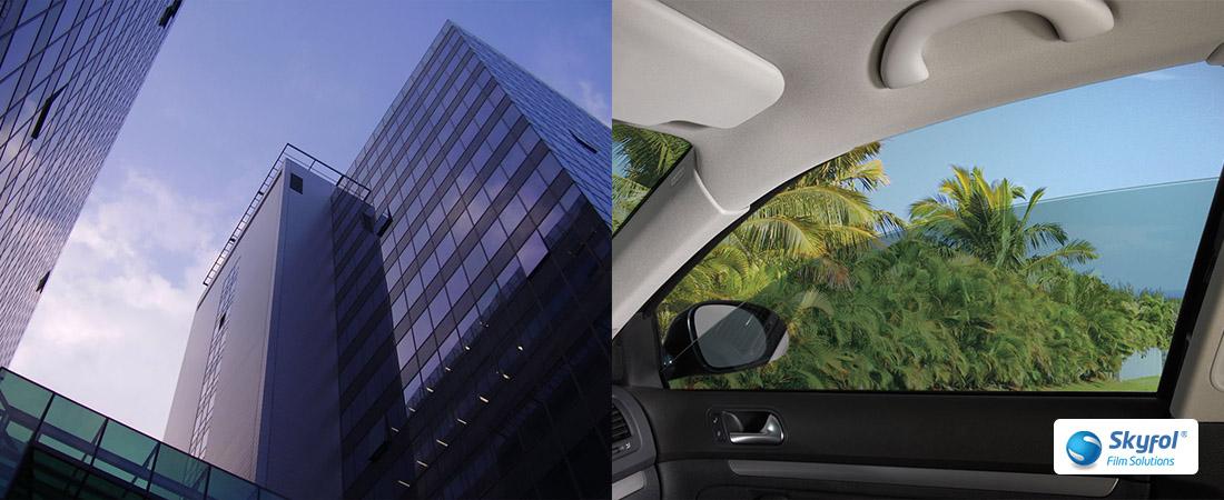 Épület-, és autóüveg-fóliázás